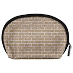 BRICK1 WHITE MARBLE & SAND Accessory Pouches (Large)  Back