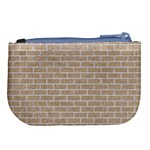 BRICK1 WHITE MARBLE & SAND Large Coin Purse Back