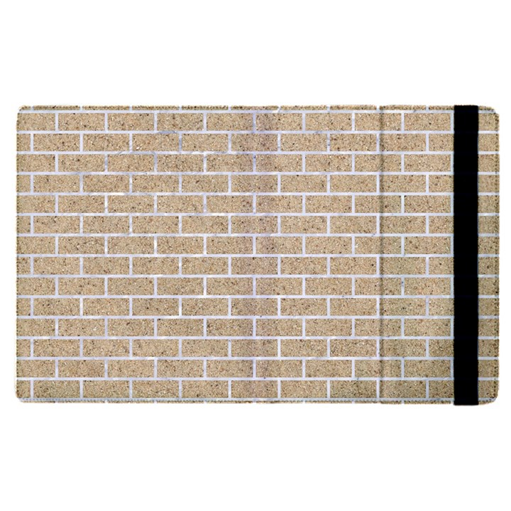 BRICK1 WHITE MARBLE & SAND Apple iPad Pro 9.7   Flip Case