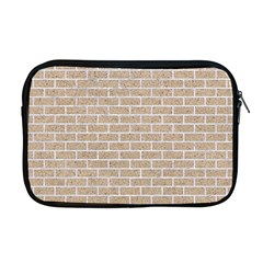 Brick1 White Marble & Sand Apple Macbook Pro 17  Zipper Case