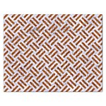 WOVEN2 WHITE MARBLE & RUSTED METAL (R) Rectangular Jigsaw Puzzl Front