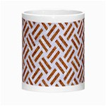 WOVEN2 WHITE MARBLE & RUSTED METAL (R) Morph Mugs Center