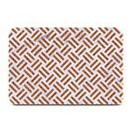 WOVEN2 WHITE MARBLE & RUSTED METAL (R) Plate Mats 18 x12 Plate Mat - 1