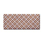 WOVEN2 WHITE MARBLE & RUSTED METAL (R) Cosmetic Storage Cases Front