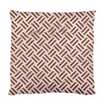 WOVEN2 WHITE MARBLE & RUSTED METAL (R) Standard Cushion Case (One Side) Front
