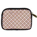 WOVEN2 WHITE MARBLE & RUSTED METAL (R) Digital Camera Cases Back