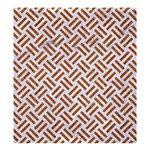 WOVEN2 WHITE MARBLE & RUSTED METAL (R) Shower Curtain 66  x 72  (Large)  58.75 x64.8 Curtain