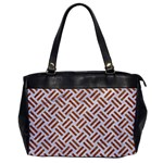 WOVEN2 WHITE MARBLE & RUSTED METAL (R) Office Handbags Front