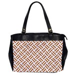 WOVEN2 WHITE MARBLE & RUSTED METAL (R) Office Handbags (2 Sides)  Front