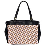 WOVEN2 WHITE MARBLE & RUSTED METAL (R) Office Handbags (2 Sides)  Back