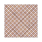 WOVEN2 WHITE MARBLE & RUSTED METAL (R) Acrylic Tangram Puzzle (6  x 6 ) Front