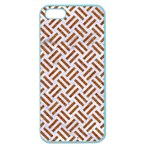WOVEN2 WHITE MARBLE & RUSTED METAL (R) Apple Seamless iPhone 5 Case (Color) Front