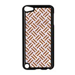WOVEN2 WHITE MARBLE & RUSTED METAL (R) Apple iPod Touch 5 Case (Black) Front