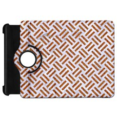Woven2 White Marble & Rusted Metal (r) Kindle Fire Hd 7