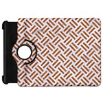 WOVEN2 WHITE MARBLE & RUSTED METAL (R) Kindle Fire HD 7  Front
