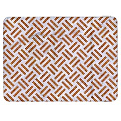 Woven2 White Marble & Rusted Metal (r) Samsung Galaxy Tab 7  P1000 Flip Case