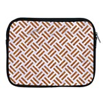 WOVEN2 WHITE MARBLE & RUSTED METAL (R) Apple iPad 2/3/4 Zipper Cases Front