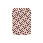 WOVEN2 WHITE MARBLE & RUSTED METAL (R) Apple iPad Mini Protective Soft Cases Front