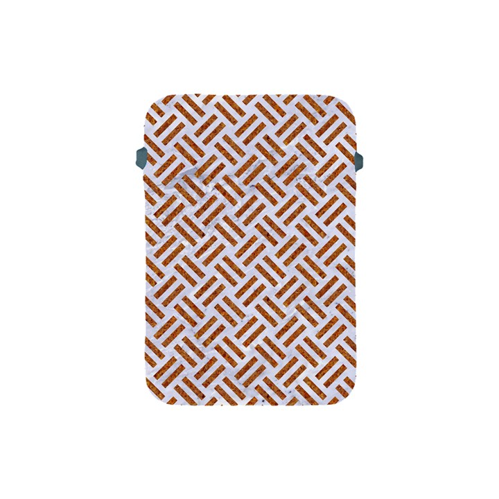 WOVEN2 WHITE MARBLE & RUSTED METAL (R) Apple iPad Mini Protective Soft Cases