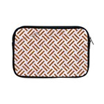 WOVEN2 WHITE MARBLE & RUSTED METAL (R) Apple iPad Mini Zipper Cases Front