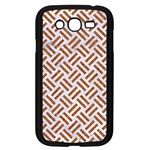 WOVEN2 WHITE MARBLE & RUSTED METAL (R) Samsung Galaxy Grand DUOS I9082 Case (Black) Front