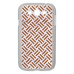 WOVEN2 WHITE MARBLE & RUSTED METAL (R) Samsung Galaxy Grand DUOS I9082 Case (White) Front