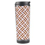 WOVEN2 WHITE MARBLE & RUSTED METAL (R) Travel Tumbler Center
