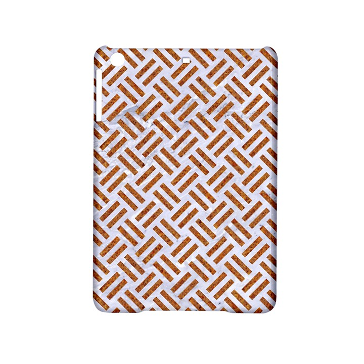 WOVEN2 WHITE MARBLE & RUSTED METAL (R) iPad Mini 2 Hardshell Cases