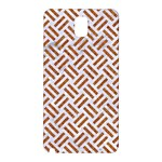 WOVEN2 WHITE MARBLE & RUSTED METAL (R) Samsung Galaxy Note 3 N9005 Hardshell Back Case Front
