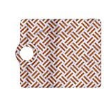 WOVEN2 WHITE MARBLE & RUSTED METAL (R) Kindle Fire HDX 8.9  Flip 360 Case Front