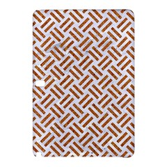 Woven2 White Marble & Rusted Metal (r) Samsung Galaxy Tab Pro 10 1 Hardshell Case
