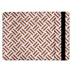 WOVEN2 WHITE MARBLE & RUSTED METAL (R) Samsung Galaxy Tab Pro 12.2  Flip Case Front