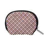 WOVEN2 WHITE MARBLE & RUSTED METAL (R) Accessory Pouches (Small)  Back