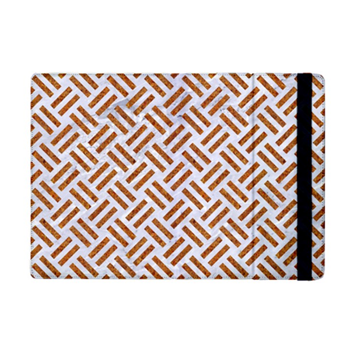 WOVEN2 WHITE MARBLE & RUSTED METAL (R) iPad Mini 2 Flip Cases