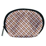 WOVEN2 WHITE MARBLE & RUSTED METAL (R) Accessory Pouches (Medium)  Front