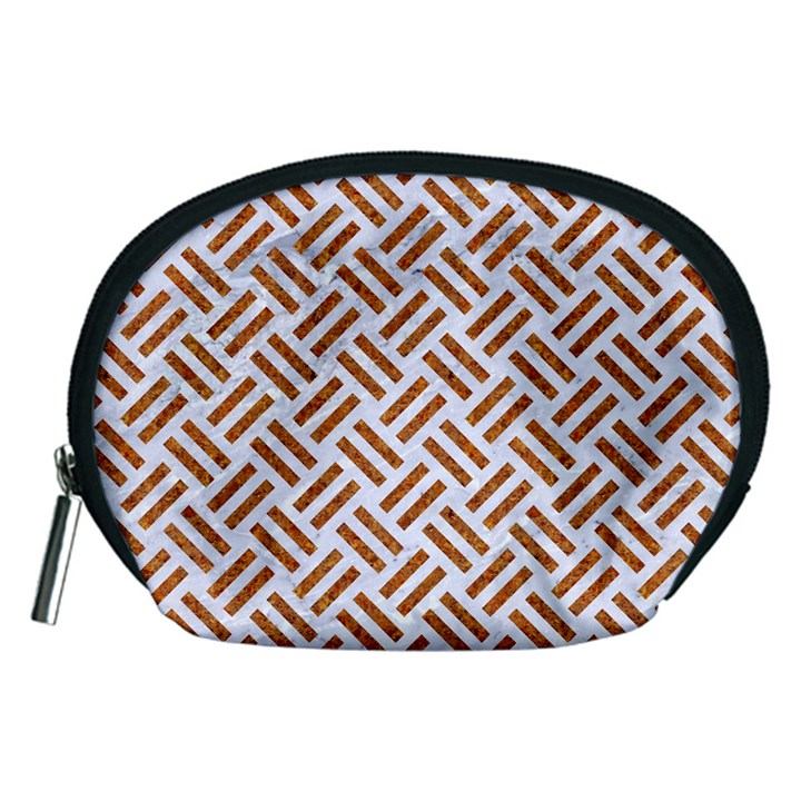 WOVEN2 WHITE MARBLE & RUSTED METAL (R) Accessory Pouches (Medium)