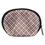 WOVEN2 WHITE MARBLE & RUSTED METAL (R) Accessory Pouches (Medium)  Back