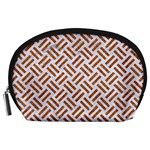 WOVEN2 WHITE MARBLE & RUSTED METAL (R) Accessory Pouches (Large)  Front