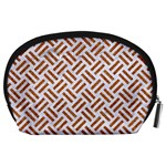 WOVEN2 WHITE MARBLE & RUSTED METAL (R) Accessory Pouches (Large)  Back