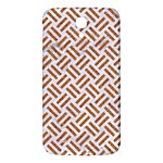 WOVEN2 WHITE MARBLE & RUSTED METAL (R) Samsung Galaxy Mega I9200 Hardshell Back Case Front