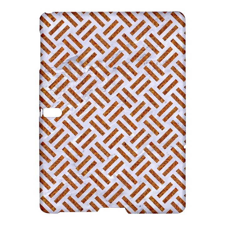 WOVEN2 WHITE MARBLE & RUSTED METAL (R) Samsung Galaxy Tab S (10.5 ) Hardshell Case