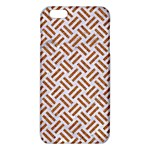 WOVEN2 WHITE MARBLE & RUSTED METAL (R) iPhone 6 Plus/6S Plus TPU Case Front