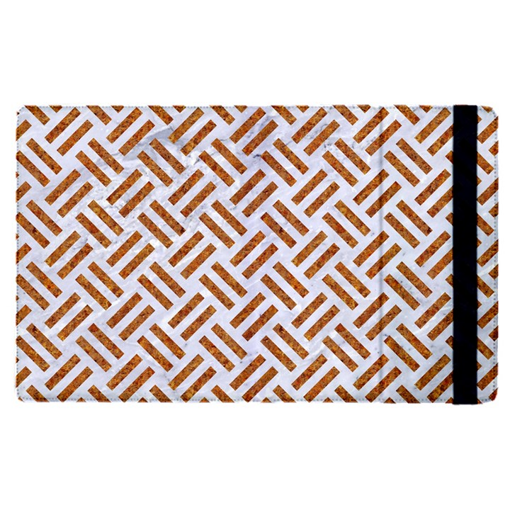 WOVEN2 WHITE MARBLE & RUSTED METAL (R) Apple iPad Pro 12.9   Flip Case