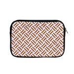 WOVEN2 WHITE MARBLE & RUSTED METAL (R) Apple MacBook Pro 15  Zipper Case Front