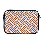 WOVEN2 WHITE MARBLE & RUSTED METAL (R) Apple MacBook Pro 17  Zipper Case Front