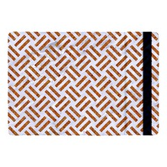 Woven2 White Marble & Rusted Metal (r) Apple Ipad Pro 10 5   Flip Case