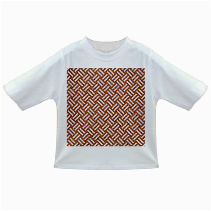 WOVEN2 WHITE MARBLE & RUSTED METAL Infant/Toddler T-Shirts