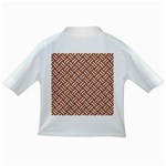 WOVEN2 WHITE MARBLE & RUSTED METAL Infant/Toddler T-Shirts Back