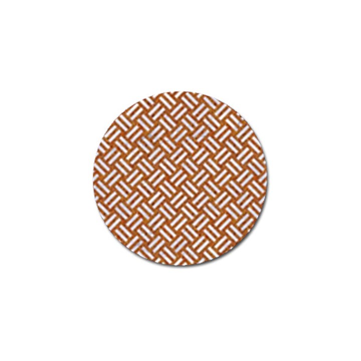 WOVEN2 WHITE MARBLE & RUSTED METAL Golf Ball Marker (10 pack)