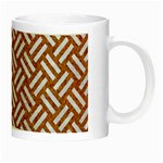 WOVEN2 WHITE MARBLE & RUSTED METAL Night Luminous Mugs Right